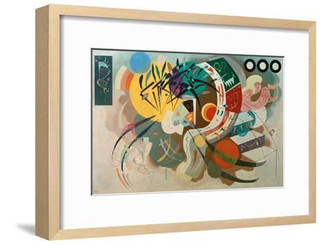 Dominant Curve, 1936-Wassily Kandinsky-Framed Art Print