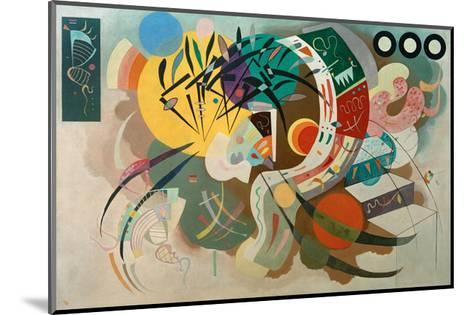 Dominant Curve, 1936-Wassily Kandinsky-Mounted Giclee Print