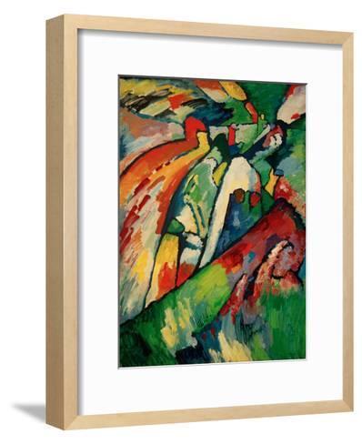 Improvisation 7 (Storm), 1910-Wassily Kandinsky-Framed Art Print