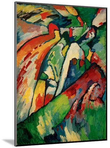 Improvisation 7 (Storm), 1910-Wassily Kandinsky-Mounted Giclee Print