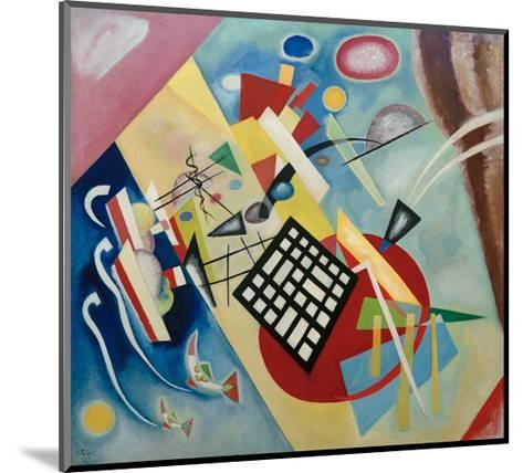 Black Raster, 1922-Wassily Kandinsky-Mounted Giclee Print
