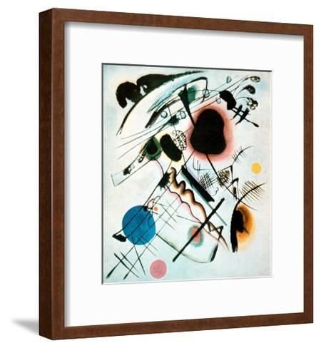Black Spot, 1921-Wassily Kandinsky-Framed Art Print