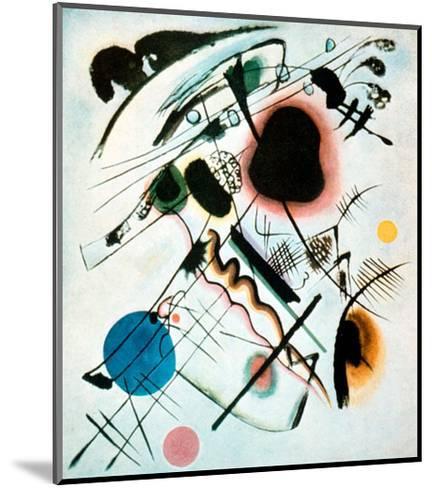 Black Spot, 1921-Wassily Kandinsky-Mounted Giclee Print