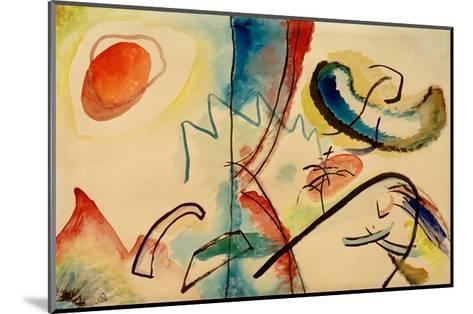 Improvisation, 1911/12-Wassily Kandinsky-Mounted Giclee Print