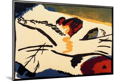 Lyrical, 1911-Wassily Kandinsky-Mounted Giclee Print