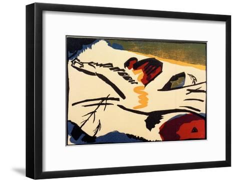 Lyrical, 1911-Wassily Kandinsky-Framed Art Print