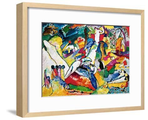 Sketch for Compositon II, 1910-Wassily Kandinsky-Framed Art Print