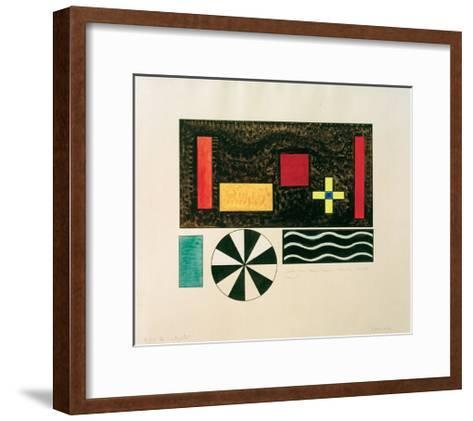 Pictures at an Exhibition Picture VII Bydlo, 1930-Wassily Kandinsky-Framed Art Print