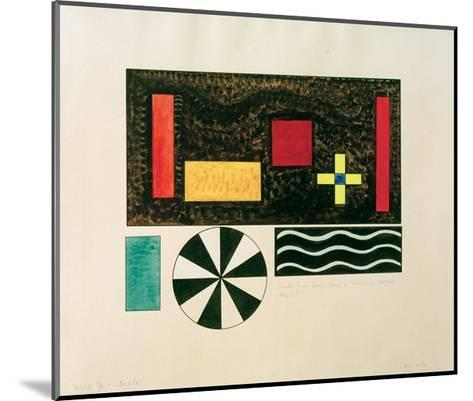 Pictures at an Exhibition Picture VII Bydlo, 1930-Wassily Kandinsky-Mounted Giclee Print