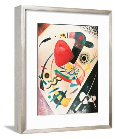 Red Spot, 1921-Wassily Kandinsky-Framed Art Print