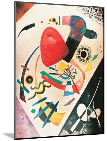 Red Spot, 1921-Wassily Kandinsky-Mounted Giclee Print