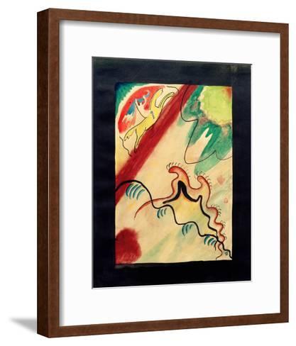 The Blue Rider, 1911-Wassily Kandinsky-Framed Art Print