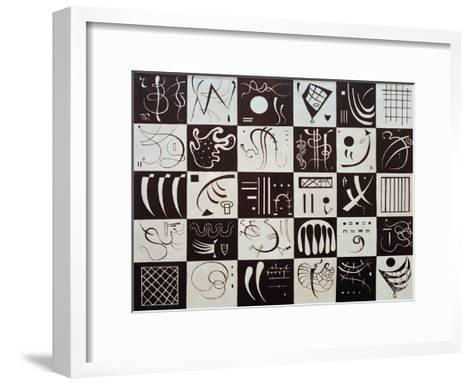 Thirty, 1937-Wassily Kandinsky-Framed Art Print