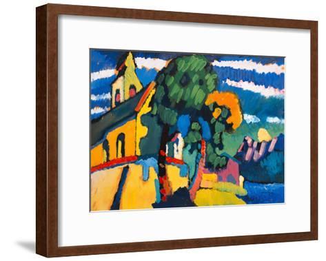 Village Church in Riegsee, Bavaria, 1907-Wassily Kandinsky-Framed Art Print