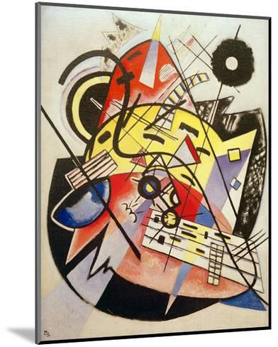 White Dot (Composition No.248) 1923-Wassily Kandinsky-Mounted Giclee Print