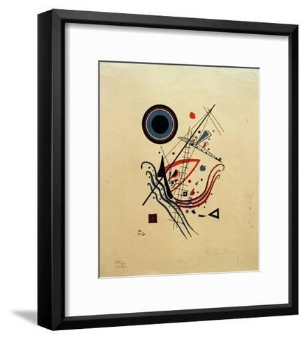 Blue, 1922-Wassily Kandinsky-Framed Art Print