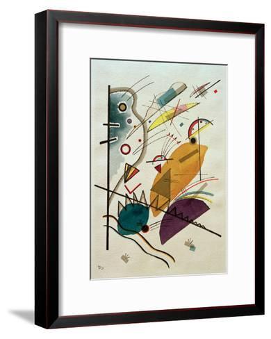 Composition, 1923-Wassily Kandinsky-Framed Art Print