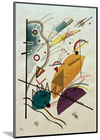 Composition, 1923-Wassily Kandinsky-Mounted Giclee Print