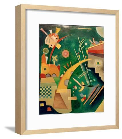 Horn Shape, 1924-Wassily Kandinsky-Framed Art Print