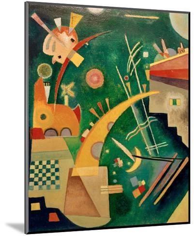 Horn Shape, 1924-Wassily Kandinsky-Mounted Giclee Print