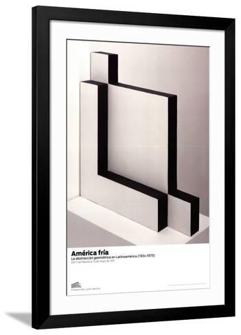 Untitled-Lygia Pape-Framed Art Print