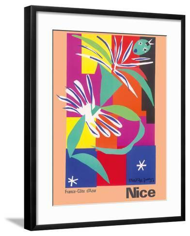Nice, France - Côte d'Azur-Henri Matisse-Framed Art Print