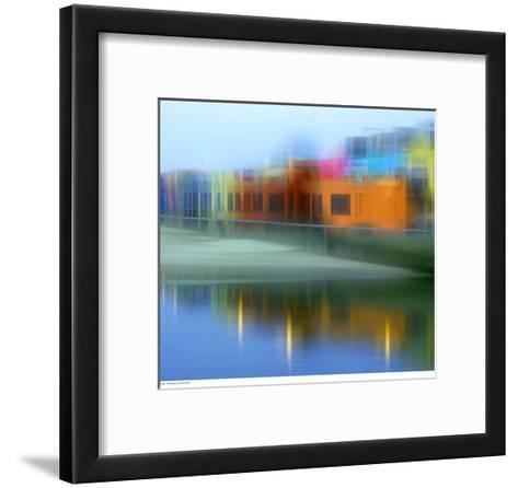Rainbow Illusion--Framed Art Print