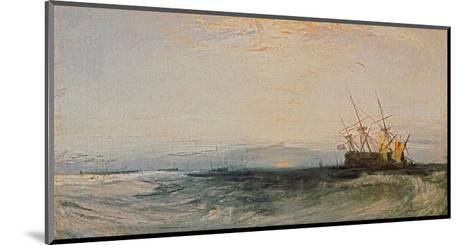 A Ship Around, 1828-J^ M^ W^ Turner-Mounted Giclee Print