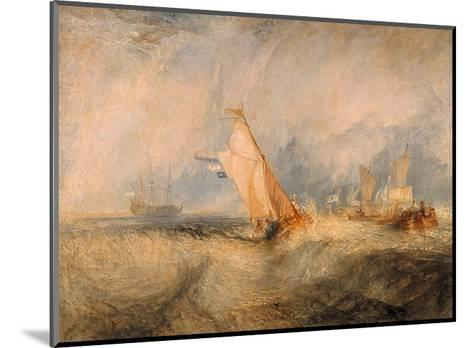 Admiral Van Tromp Cruising Into the Wind, 1844-J^ M^ W^ Turner-Mounted Giclee Print