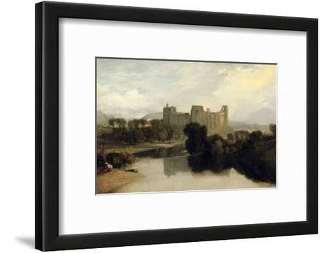 Cockermouth Castle, 1810-J^ M^ W^ Turner-Framed Art Print