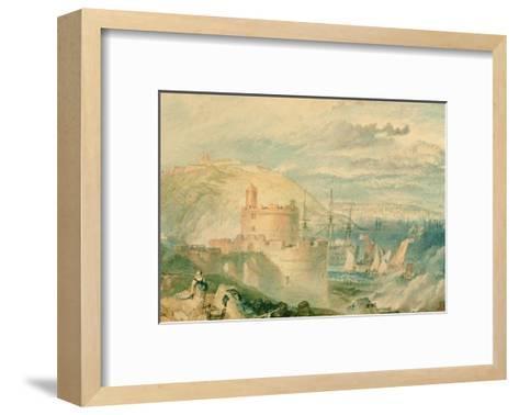 Falmouth Harbour-J^ M^ W^ Turner-Framed Art Print