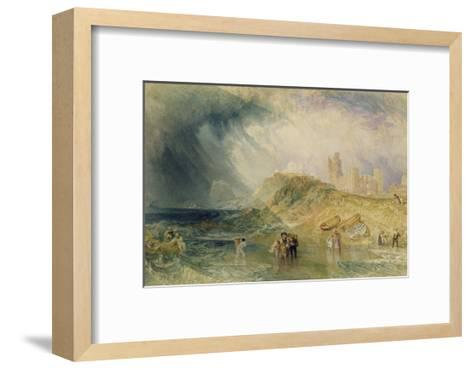 Holy Island, Northumberland, 1820-J^ M^ W^ Turner-Framed Art Print