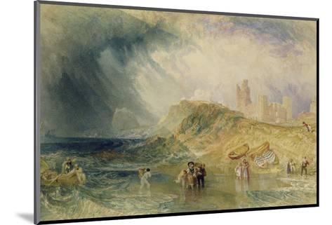 Holy Island, Northumberland, 1820-J^ M^ W^ Turner-Mounted Giclee Print
