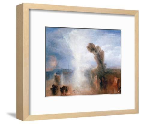 Neopolitan Fisher Girls-J^ M^ W^ Turner-Framed Art Print