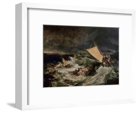 Shipwreck, 1800-J^ M^ W^ Turner-Framed Art Print