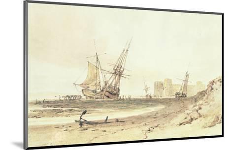 Flint Castle-J^ M^ W^ Turner-Mounted Giclee Print