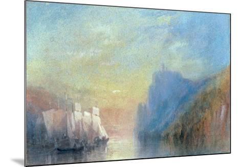 On the Rhine, c 1830-J^ M^ W^ Turner-Mounted Giclee Print