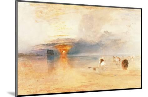 Calais Sands at Low Water, 1830-J^ M^ W^ Turner-Mounted Giclee Print