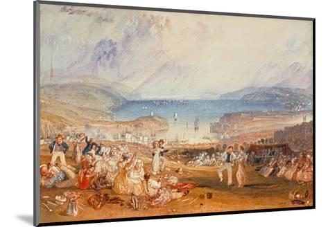 Plymouth, Devonshire, 1830-J^ M^ W^ Turner-Mounted Giclee Print