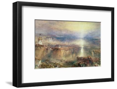 Zurich-J^ M^ W^ Turner-Framed Art Print