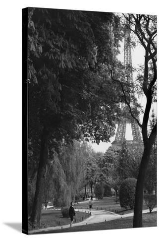 Eiffel Tower, Paris c1950-Jules Dortes-Stretched Canvas Print
