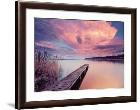Light Storm-Arnaud Bertrande-Framed Art Print