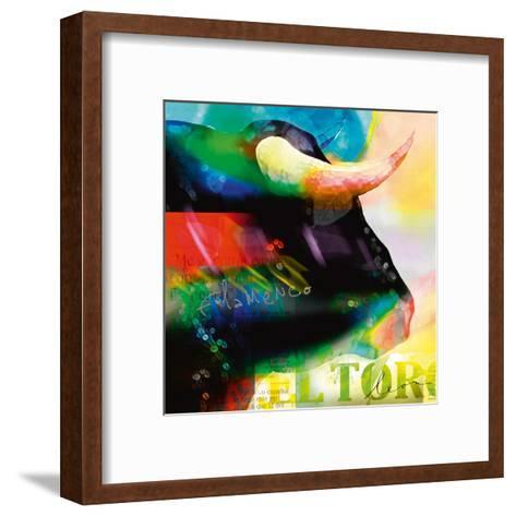 Cabeza de Toro-Leon Bosboom-Framed Art Print