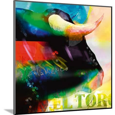 Cabeza de Toro-Leon Bosboom-Mounted Art Print