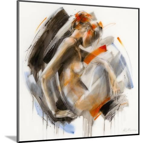 Modest II-Kitty Meijering-Mounted Art Print