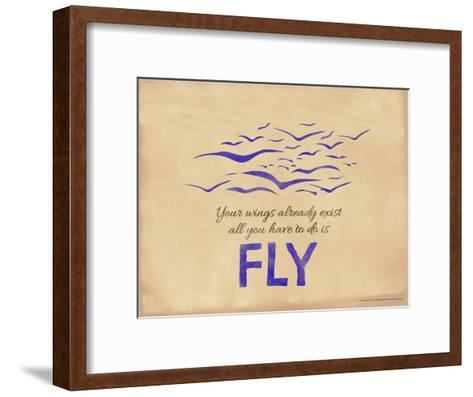 All You Have to Do is Fly-Jeanne Stevenson-Framed Art Print