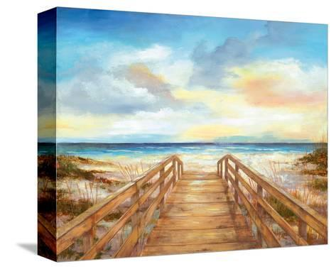 Walk to the Beach--Stretched Canvas Print