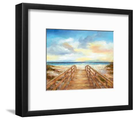 Walk to the Beach--Framed Art Print