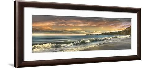 Warm Sunset-Mike Calascibetta-Framed Art Print