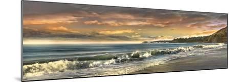 Warm Sunset-Mike Calascibetta-Mounted Art Print